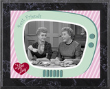 I Love Lucy - Having Tea plaque