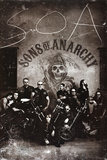 Sons of Anarchy Group TV Poster Print Poster