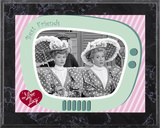 I Love Lucy - A Wonderful Pair plaque