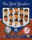 New York Yankees 2012 Team Composite