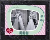 I Love Lucy - The Same Dress plaque