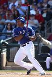 Surprise, AZ - March 09: Los Angeles Dodgers v Texas Rangers - A.J. Ellis