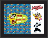Mighty Mouse Art Plaque