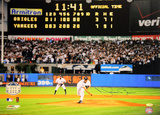 Mariano Rivera Final Pitch at Yankee Stadium Scoreboard