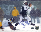 Chad Pennington Snow vs. Steelers Autographed Photo (Hand Signed Collectable)