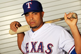 Surprise, AZ - February 28: Texas Rangers Photo Day - Nelson Cruz