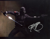 Ray Park GI Joe In Black Suit Horizontal Photo