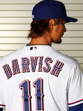 Surprise, AZ - February 28: Texas Rangers Photo Day - Yu Darvish