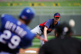 Surprise, AZ - March 11: Cleveland Indians v Texas Rangers - Derek Holland
