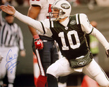 Chad Pennington First Down Point Autographed Photo (Hand Signed Collectable)