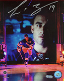 Scott Gomez 2008 Opening Night Introduction Autographed Photo (Hand Signed Collectable)