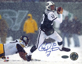 Chad Pennington Snow Run vs. Steelers graph Autographed Photo (Hand Signed Collectable)