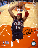 Vince Carter New Jersey Nets - Dunking in Blue Jersey
