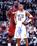 Vince Carter New Jersey Nets Autographed Photo (Hand Signed Collectable)