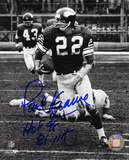 Paul Krause Minnesota Vikings with HOF 98 and 81 INT s Autographed Photo (Hand Signed Collectable)