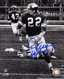 Paul Krause Minnesota Vikings - Action with HOF 98  Autographed Photo (Hand Signed Collectable)