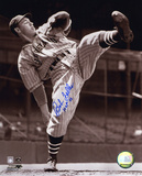 Bob Feller Cleveland Indians with HOF 62 Inscription Autographed Photo (Hand Signed Collectable)