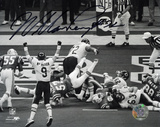 William Perry Chicago Bears Super Bowl XX TD B&W Action Autographed Photo (Hand Signed Collectable)