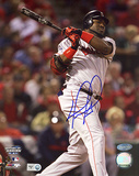 David Ortiz 2004 WS Game 4 Double Autographed Photo (Hand Signed Collectable)