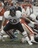 Tom &rews Chicago Bears -Action with Super Bowl XX Champs Autographed Photo (H& Signed Collectable)