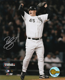 Bobby Jenks Chicago White Sox 2005 World Series Game 4