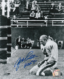 Y.A. Tittle New York Giants with HOF 71 Inscription