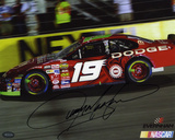 Jeremy Mayfield NASCAR Autographed Photo (Hand Signed Collectable)