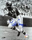 Gale Sayers Chicago Bears B&W Autographed Photo (Hand Signed Collectable)