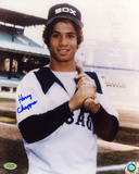 Harry Chappas Chicago White Sox Autographed Photo (Hand Signed Collectable)