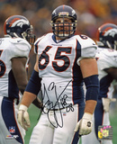 Gary Zimmerman Denver Broncos with HOF 08 Inscription