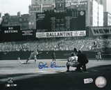 Don Larsen New York Yankees World Series Perfect Game First Pitch