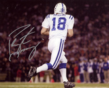 Peyton Manning Indianapolis Colts Autographed Photo (Hand Signed Collectable)