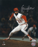 Bruce Sutter St. Louis Cardinals Pitching Autographed Photo (Hand Signed Collectable)