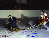 Gordie Howe Detroit Red Wings with ''Mr. Hockey''  Autographed Photo (Hand Signed Collectable)