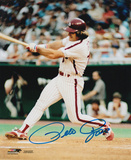 Pete Rose Philadelphia Phillies Autographed Photo (Hand Signed Collectable)