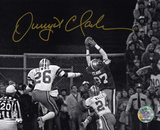 Dwight Clark San Francisco 49ers - The Catch Autographed Photo (Hand Signed Collectable)