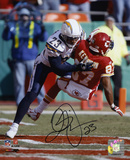 Quentin Jammer San Diego Chargers Autographed Photo (Hand Signed Collectable)