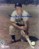 Duke Snider Brooklyn Dodgers with Edwin Donald Snider  Autographed Photo (Hand Signed Collectable)