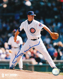 Kerry Wood Chicago Cubs White Jersey Autographed Photo (Hand Signed Collectable)
