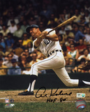 Al Kaline Detroit Tigers with HOF 80 Inscription Autographed Photo (Hand Signed Collectable)