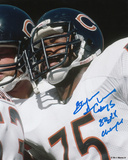 Stefan Humphries Chicago Bears with SB XX Champs Inscription