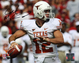 Colt McCoy Texas Longhorns Ball in Hand Autographed Photo (Hand Signed Collectable)