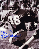 Gale Sayers Kansas Jayhawks B&W Autographed Photo (Hand Signed Collectable)