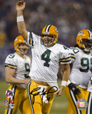 Brett Favre Green Bay Packers -Touchdown Pass Celebration Autographed Photo (H& Signed Collectable)