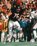 Steve McMichael  Chicago Bears with SB XX Inscription