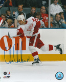 Chris Chelios Detroit Red Wings Autographed Photo (Hand Signed Collectable)