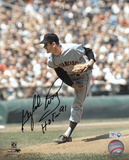 Gaylord Perry with Hall Of Fame 91 Inscription Autographed Photo (Hand Signed Collectable)