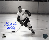 Gordie Howe Detroit Red Wings with 9 Mr. Hockey  Autographed Photo (Hand Signed Collectable)