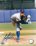 Mark Prior Chicago Cubs Grey Uniform Autographed Photo (Hand Signed Collectable)