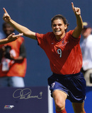 Mia Hamm - Soccer Action Autographed Photo (Hand Signed Collectable)